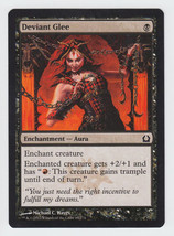 Deviant Glee x 1, NM, Return to Ravnica, Common Black, Magic the Gathering - $0.39 CAD