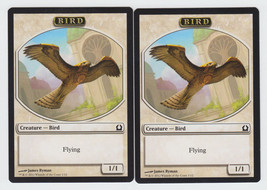 Bird x 2, NM, Return to Ravnica,  Token, Magic the Gathering - $1.24 CAD