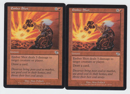 Ember Shot x 2, LP, Judgment, Common Red, Magic the Gathering - $0.59 CAD