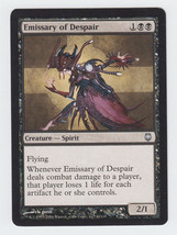 Emissary of Despair x 1, LP, Darksteel, Uncommon Black, Magic the Gathering - $0.40 CAD