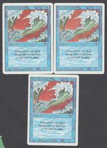 Blue Elemental Blast x 3, NM, Revised, Common Blue, Magic the Gathering - $1.05 CAD