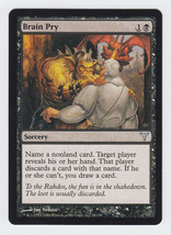 Brain Pry x 1, LP, Dissension, Uncommon Black, Magic the Gathering - $0.44 CAD