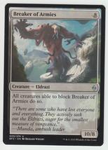 Breaker of Armies x 1, NM, Battle for Zendikar, Uncommon Colourless, Mag... - $0.46 CAD