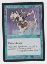 Breezekeeper x 1, LP, Visions, Common Blue, Magic the Gathering - $0.39 CAD