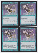 Breezekeeper x 4, LP, Visions, Common Blue, Magic the Gathering - $0.78 CAD