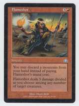 Flameshot x 1, LP, Prophecy, Uncommon Red, Magic the Gathering - $0.46 CAD