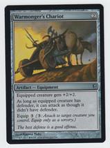 FOIL Warmonger's Chariot x 1, NM, Conspiracy, Uncommon Artifact Equipmen... - $0.87 CAD