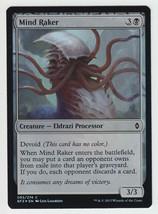 FOIL Mind Raker x 1, NM, Battle for Zendikar, Common Black, Magic the Ga... - $0.57 CAD