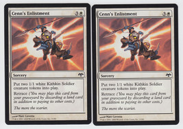 Cenn's Enlistment x 2, NM, Eventide, Common White, Magic the Gathering - $0.60 CAD