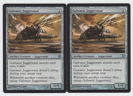 Galvanic Juggernaut x 2, NM, Conspiracy, Uncommon Artifact Creature, Mag... - $0.61 CAD