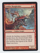Goblin Roughrider x 1, LP, Worldwake, Common Red, Magic the Gathering - $0.39 CAD