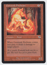 Goretusk Firebeast x 1, LP, Judgment, Common Red, Magic the Gathering - $0.41 CAD