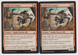 Goblin Freerunner x 2, NM, Oath of the Gatewatch, Common Red, Magic the ... - $0.55 CAD