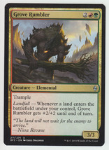 Grove Rumbler x 1, NM, Battle for Zendikar, Unc... - $0.47 CAD