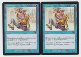 Hoodwink x 2, LP, Mercadian Masques, Common Blue, Magic the Gathering - $0.58 CAD