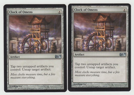 Clock of Omens x 2, NM, Magic 2013, Uncommon Artifact, Magic the Gathering - $0.57 CAD