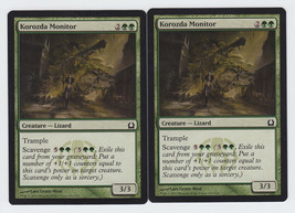 Korozda Monitor x 2, NM, Return to Ravnica, Common Green, Magic the Gath... - $0.51 CAD