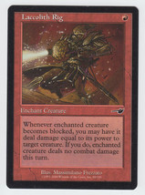 Laccolith Rig x 1, LP, Nemesis, Common Red, Magic the Gathering - $0.41 CAD