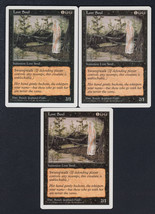 Lost Soul x 3, LP, Fifth Edition, Common Black, Magic the Gathering - $0.76 CAD