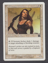 D'Avenant Archer x 1, LP, Sixth Edition, Common White, Magic the Gathering - $0.47 CAD