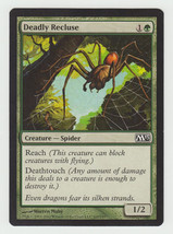 Deadly Recluse x 1, NM, Magic 2013, Common Green, Magic the Gathering - $0.41 CAD