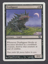 Deathgazer x 1, LP, Eighth Edition, Uncommon Black, Magic the Gathering - $0.44 CAD