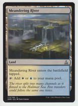 Meandering River x 1, NM, Oath of the Gatewatch, Uncommon Land, Magic th... - $0.47 CAD