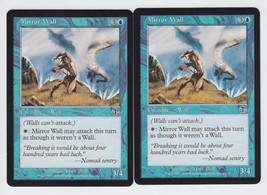 Mirror Wall x 2, LP, Judgment, Common Blue, Magic the Gathering - $0.61 CAD
