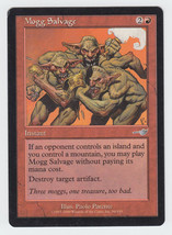 Mogg Salvage x 1, LP, Nemesis, Uncommon Red, Magic the Gathering - $0.46 CAD
