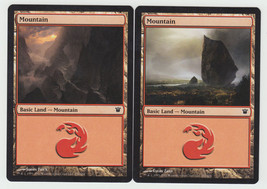 Mountain x 2, NM, Innistrad,  Basic Land, Magic the Gathering - $0.60 CAD