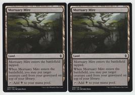 Mortuary Mire x 2, NM, Battle for Zendikar, Common Land, Magic the Gathe... - $0.57 CAD