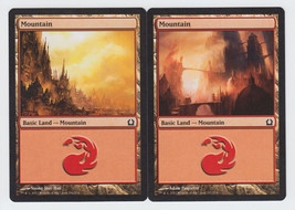 Mountain x 2, NM, Return to Ravnica,  Basic Land, Magic the Gathering - $0.52 CAD