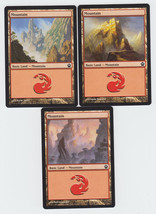 Mountain x 3, NM, Theros,  Basic Land, Magic the Gathering - $0.68 CAD