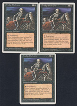 Drudge Skeletons x 3, CI, Fourth Edition, Common Black, Magic the Gathering - $0.76 CAD