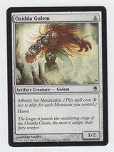 Oxidda Golem x 1, LP, Darksteel, Common Artifact Creature, Magic the Gat... - $0.39 CAD