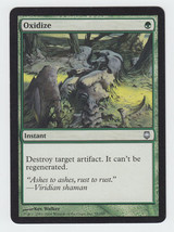 Oxidize x 1, LP, Darksteel, Uncommon Green, Magic the Gathering - $0.47 CAD