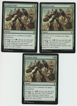 Earthen Arms x 3, NM, Battle for Zendikar, Common Green, Magic the Gathe... - $0.68 CAD