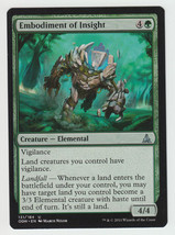 Embodiment of Insight x 1, NM, Oath of the Gatewatch, Uncommon Green, Ma... - $0.47 CAD