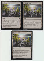 Evolving Wilds x 3, NM, Battle for Zendikar, Common Land, Magic the Gath... - $0.77 CAD