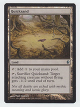 Quicksand x 1, NM, Conspiracy, Uncommon Basic Land, Magic the Gathering - $0.39 CAD