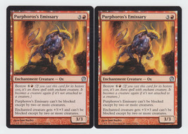 Purphoros's Emissary x 2, NM, Theros, Uncommon Red, Magic the Gathering - $0.59 CAD