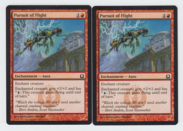Pursuit of Flight x 2, NM, Return to Ravnica, Common Red, Magic the Gath... - $0.49 CAD