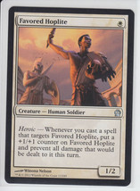 Favored Hoplite x 1, NM, Theros, Uncommon White, Magic the Gathering - $0.54 CAD