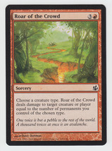 Roar of the Crowd x 1, NM, Morningtide, Common Red, Magic the Gathering - $0.44 CAD