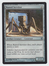 Runed Servitor x 1, NM, Conspiracy, Uncommon Artifact Creature, Magic th... - $0.45 CAD