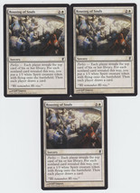 Rousing of Souls x 3, NM, Conspiracy, Common White, Magic the Gathering - $0.70 CAD