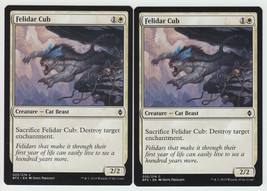 Felidar Cub x 2, NM, Battle for Zendikar, Common White, Magic the Gathering - $0.54 CAD