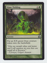 Slime Molding x 1, NM, Return to Ravnica, Uncommon Green, Magic the Gath... - $0.42 CAD