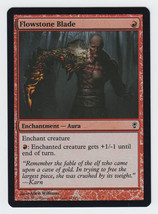 FOIL Flowstone Blade x 1, NM, Conspiracy, Common Red, Magic the Gathering - $0.57 CAD