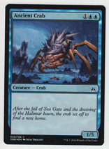 FOIL Ancient Crab x 1, NM, Oath of the Gatewatch, Common Blue, Magic the... - $0.53 CAD